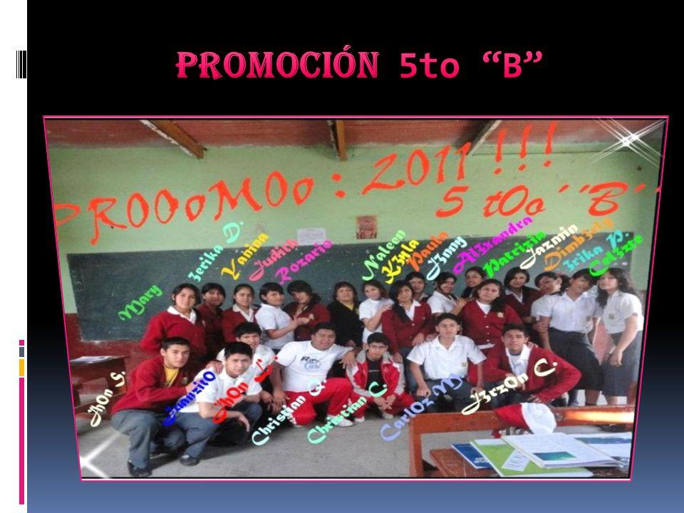 Promoción 5to B