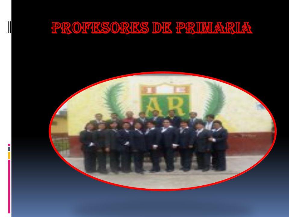 Profesores de primaria