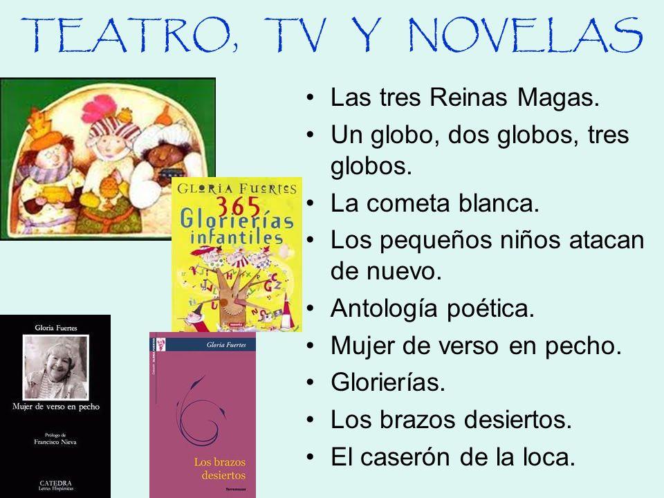 TEATRO, TV Y NOVELAS Las tres Reinas Magas.