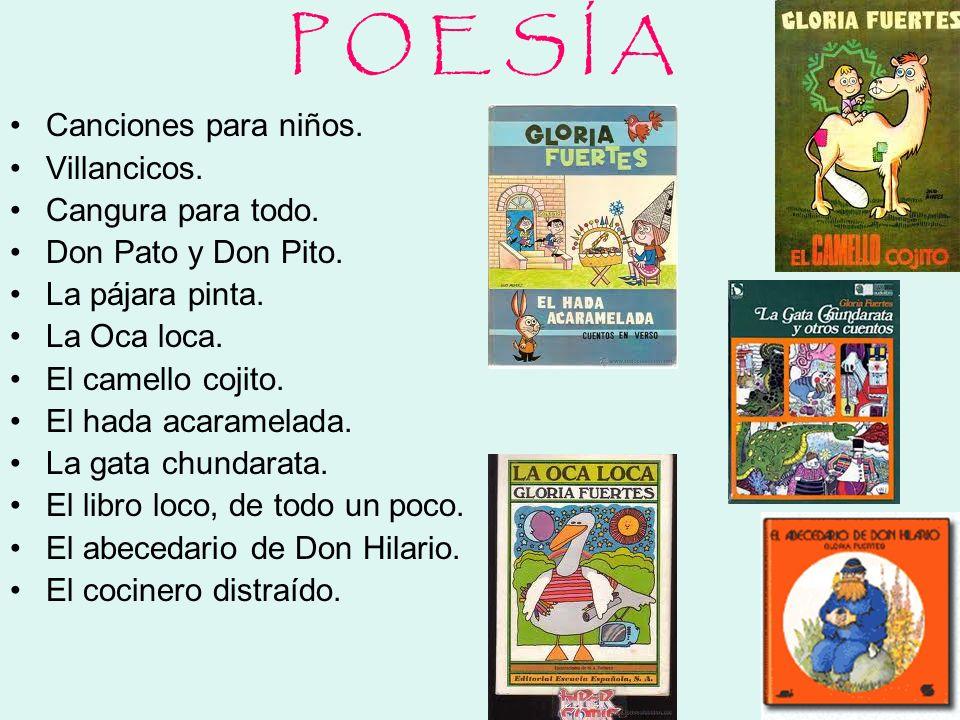 P O E S Í A Canciones para niños. Villancicos. Cangura para todo.