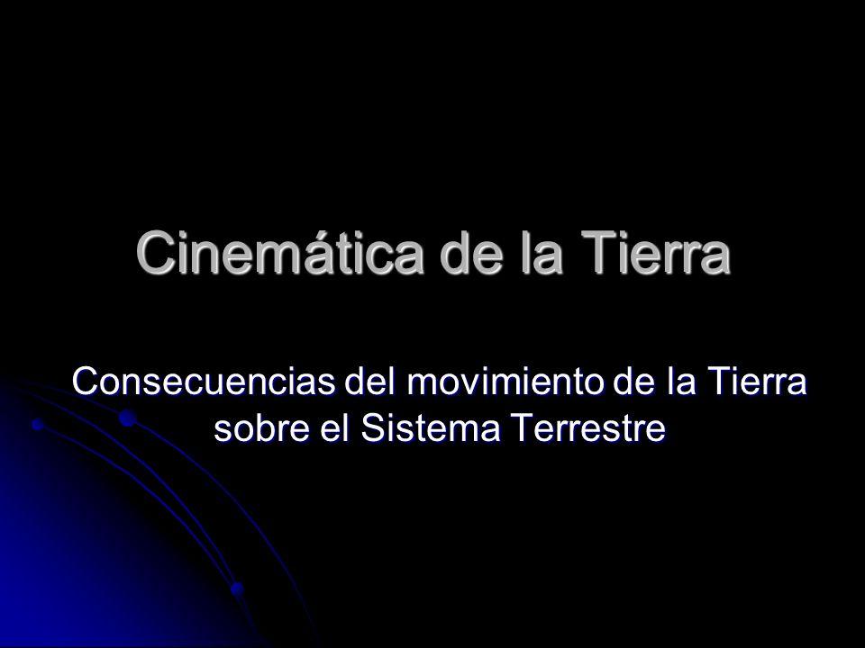 Cinemática de la Tierra