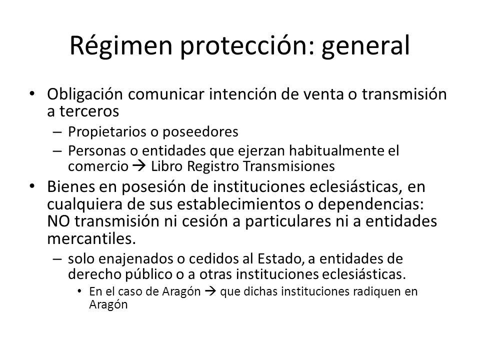 Régimen protección: general