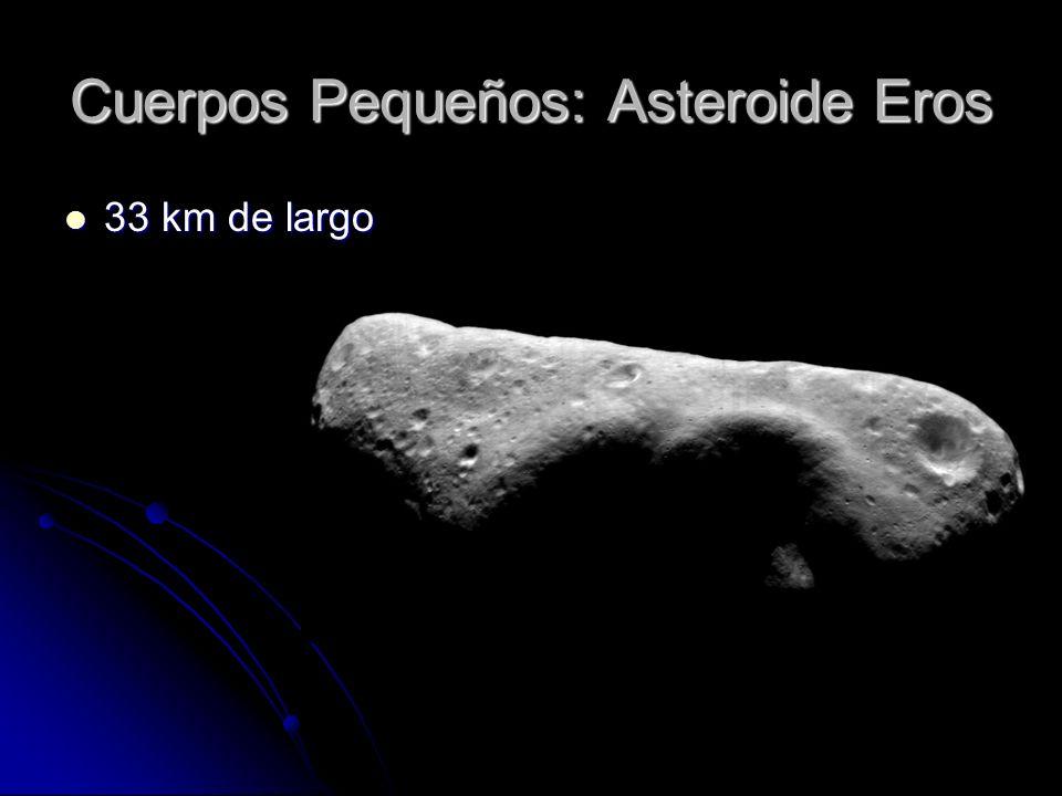 Cuerpos Pequeños: Asteroide Eros
