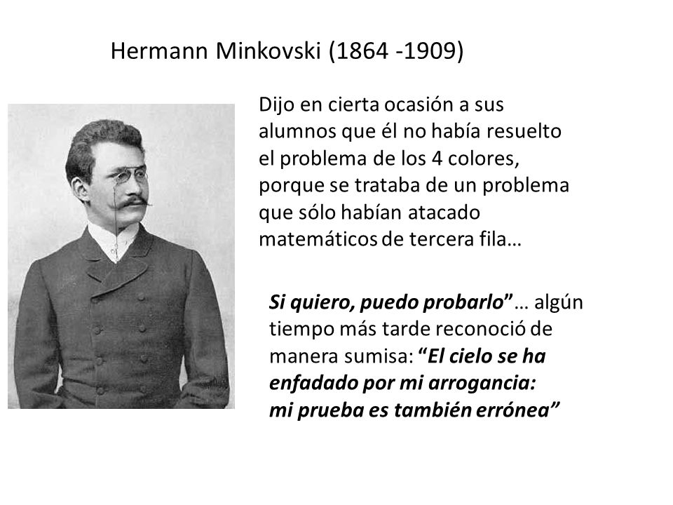 Hermann Minkovski (1864 -1909)