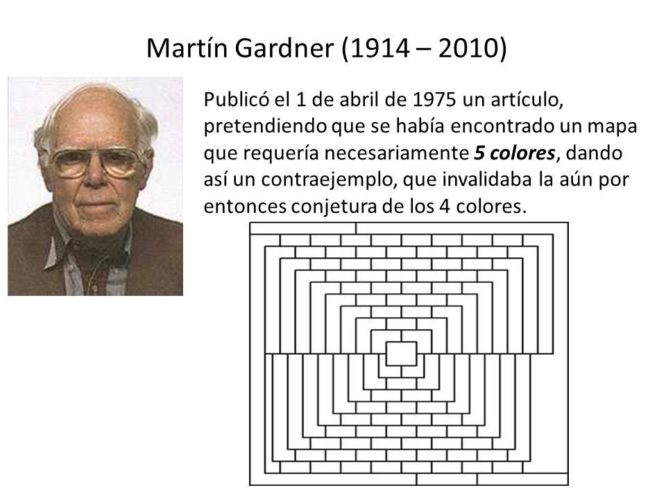 Martín Gardner (1914 – 2010)