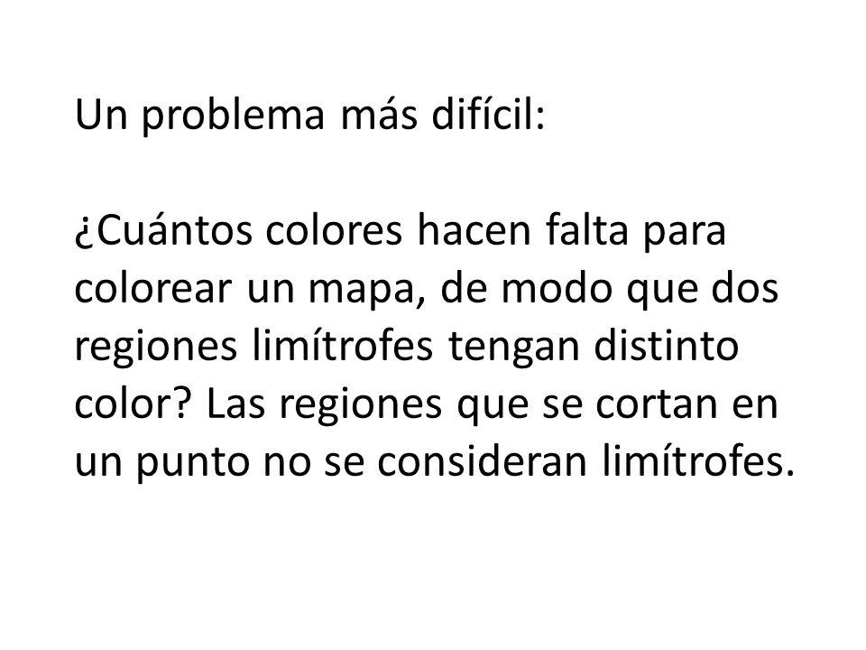 Un problema más difícil: