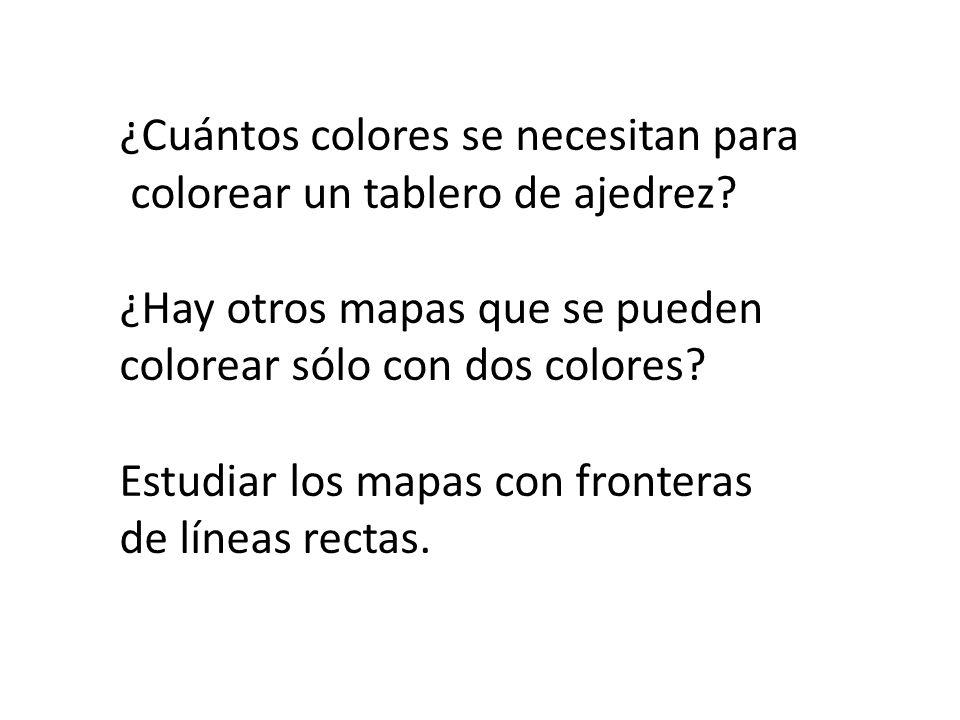 ¿Cuántos colores se necesitan para