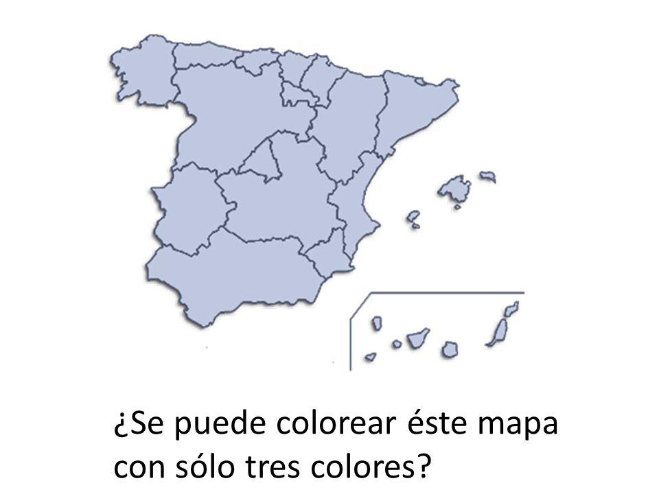 ¿Se puede colorear éste mapa
