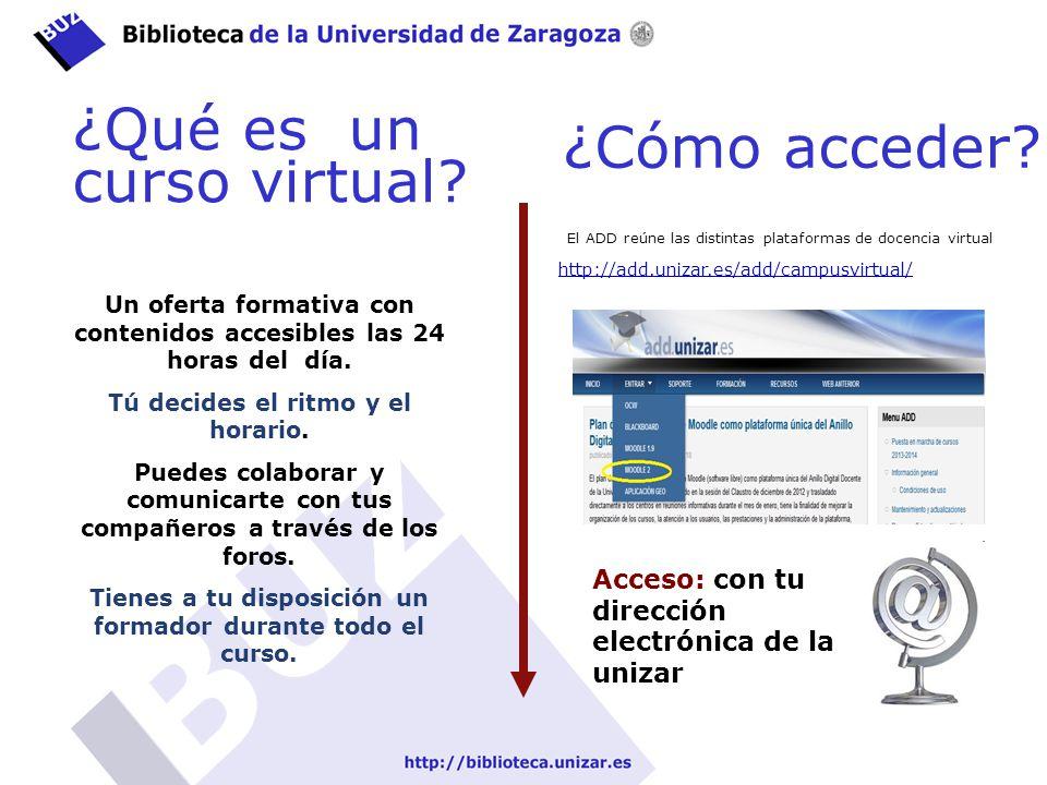 ¿Qué es un curso virtual