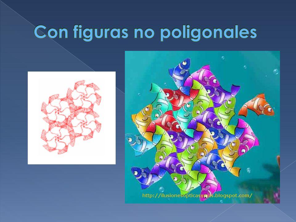 Con figuras no poligonales