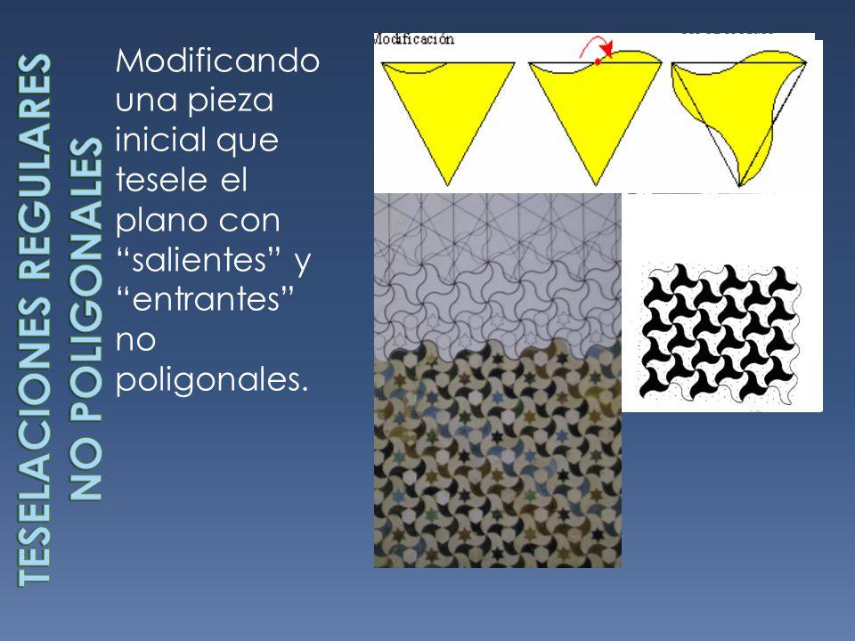 Teselaciones regulares no poligonales