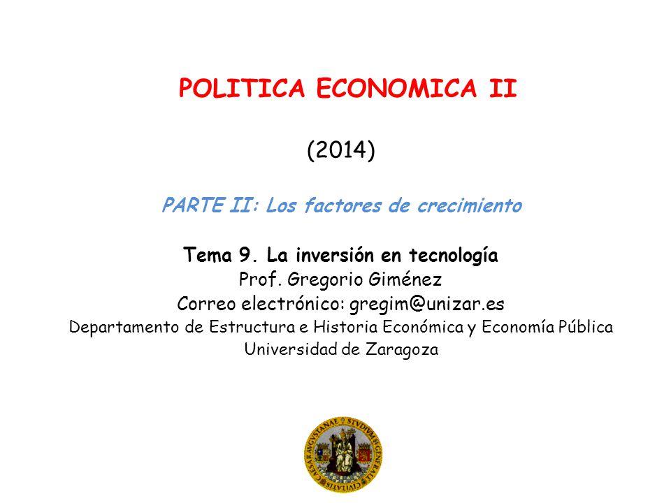 Tema 9. La inversión en tecnología