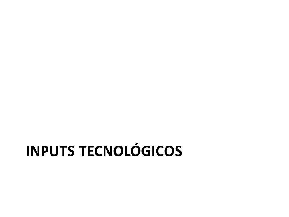 INPUTS tecnológicos