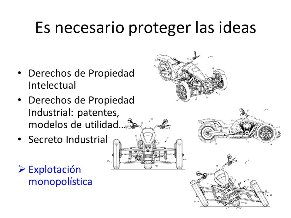 Es necesario proteger las ideas