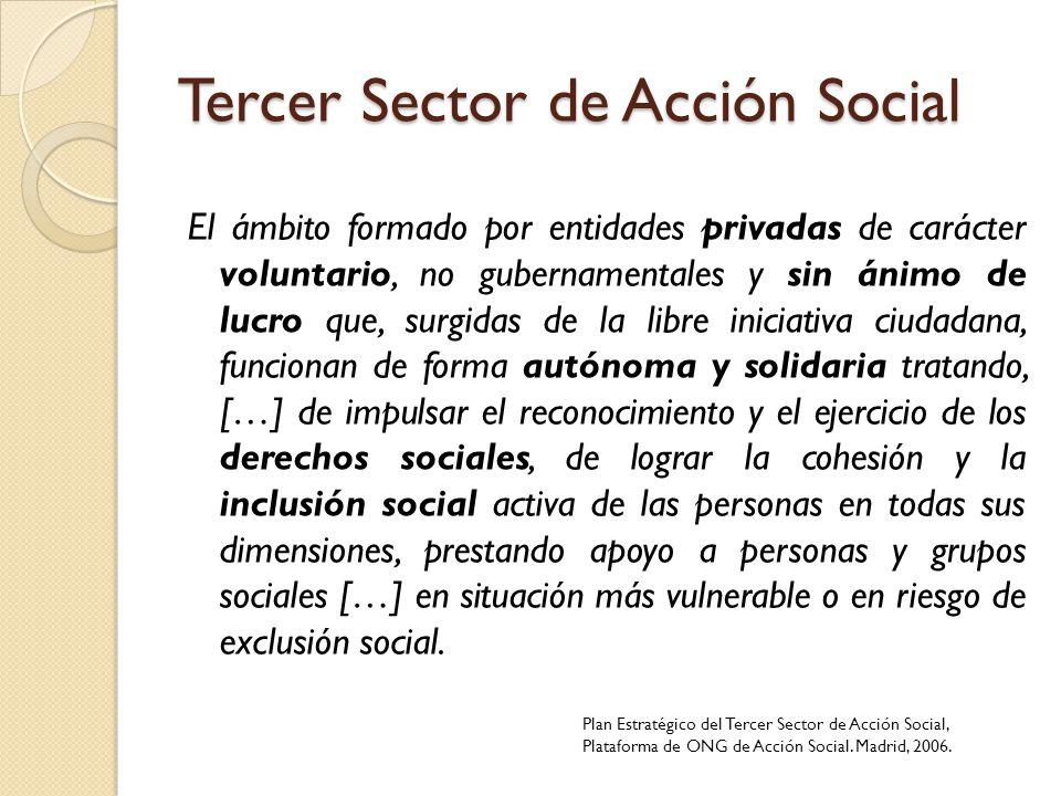 Tercer Sector de Acción Social