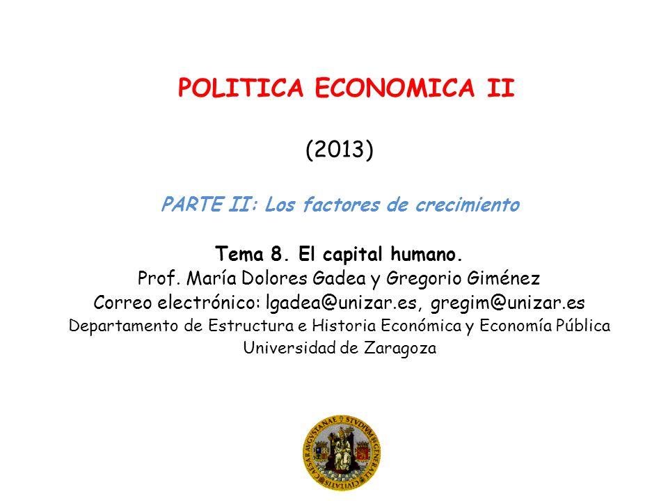(2013) PARTE II: Los factores de crecimiento