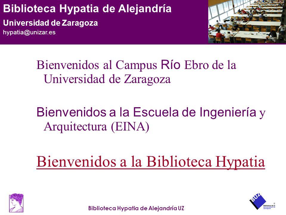 Bienvenidos a la Biblioteca Hypatia