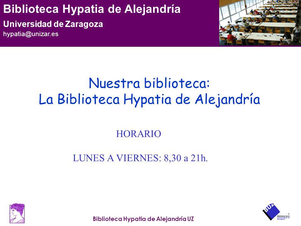 La Biblioteca Hypatia de Alejandría