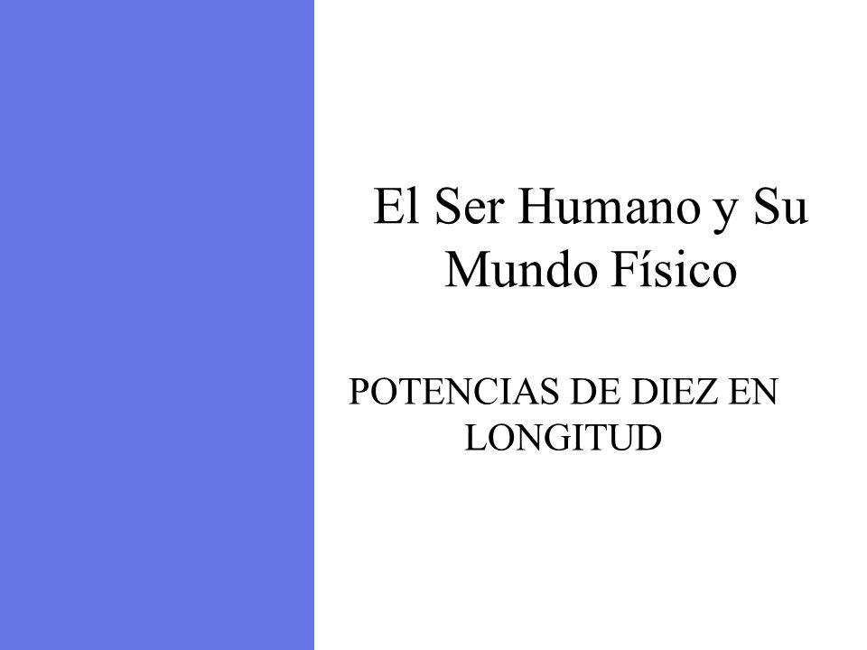 El Ser Humano y Su Mundo Físico