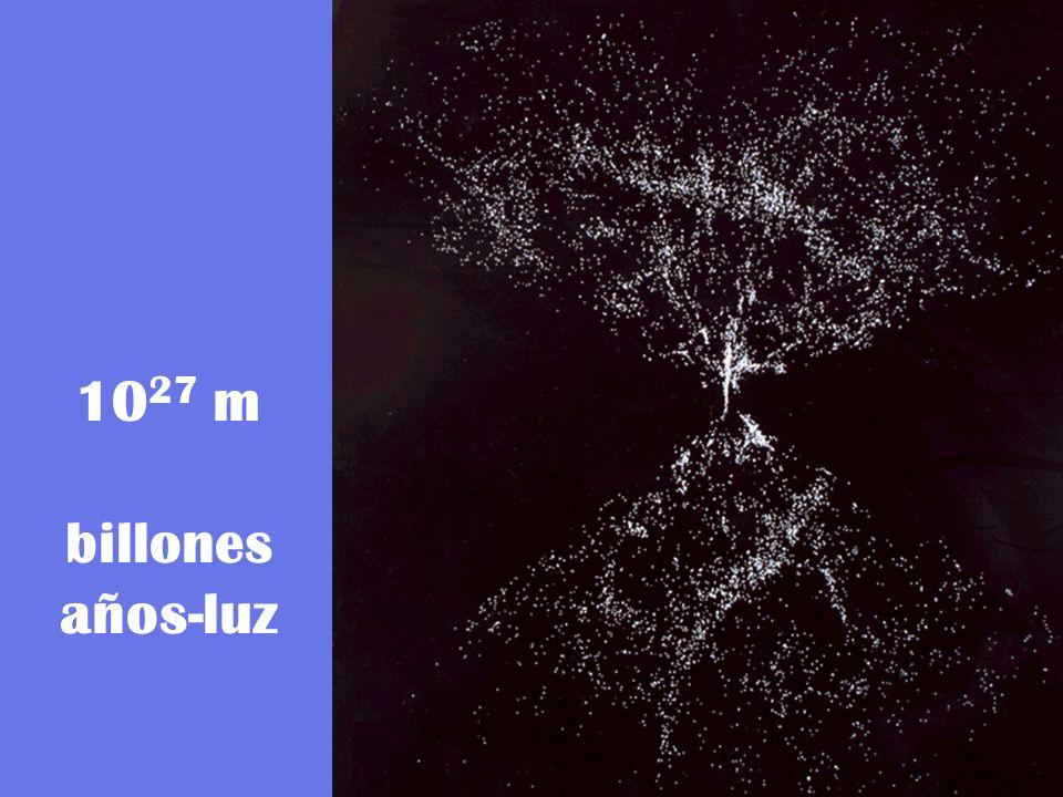 1027 m billones años-luz