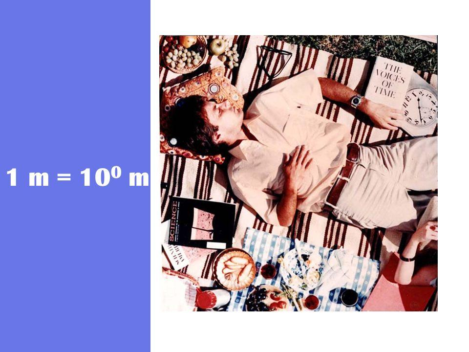 1 m = 100 m