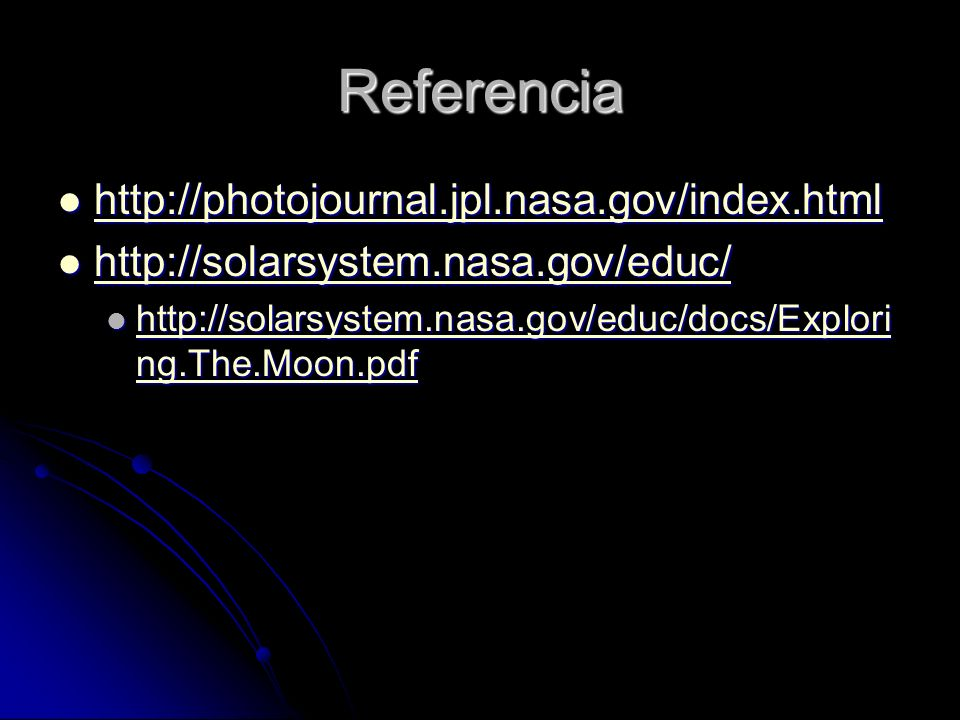 Referencia http://photojournal.jpl.nasa.gov/index.html