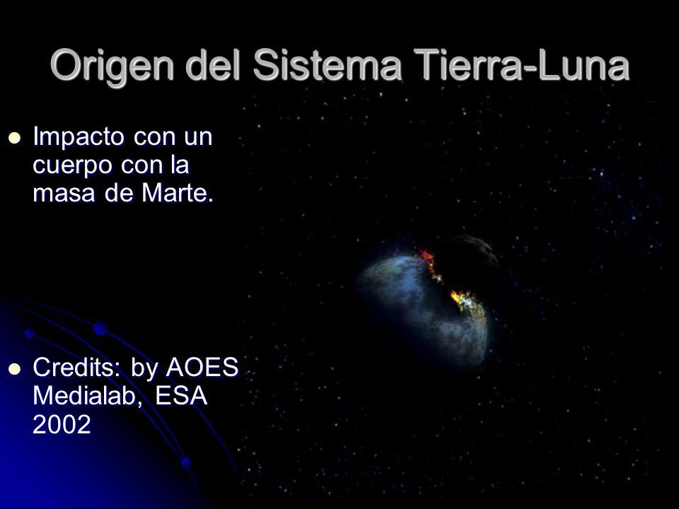 Origen del Sistema Tierra-Luna