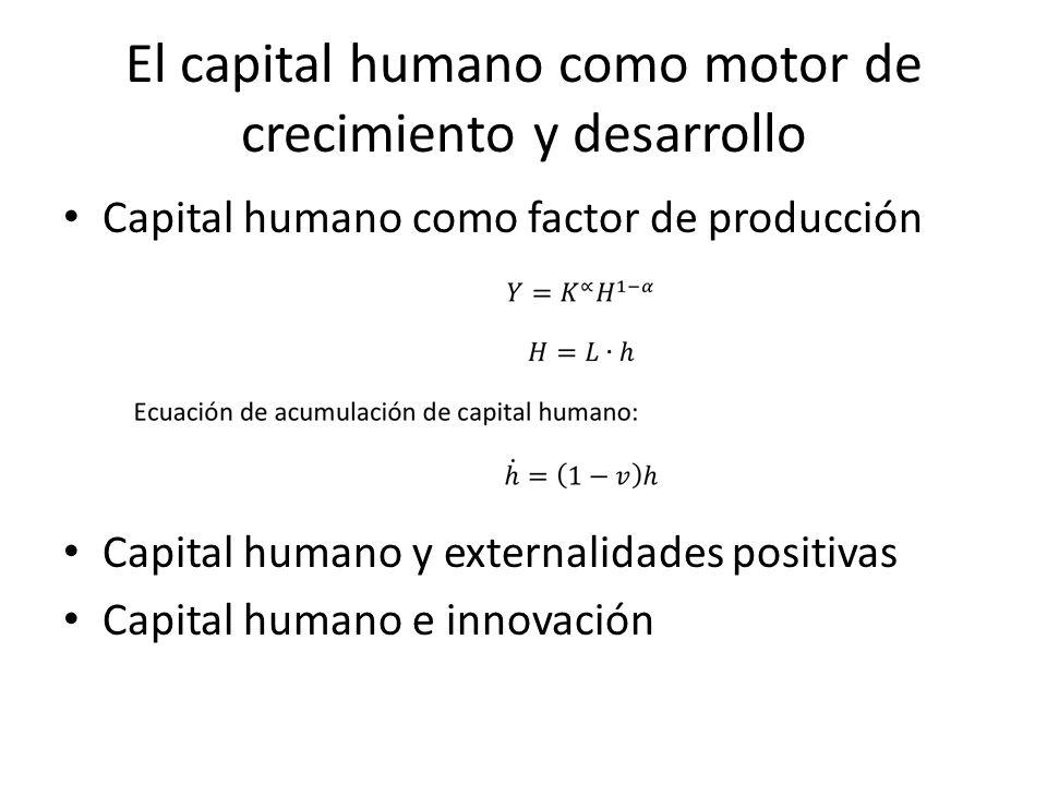 El capital humano como motor de crecimiento y desarrollo