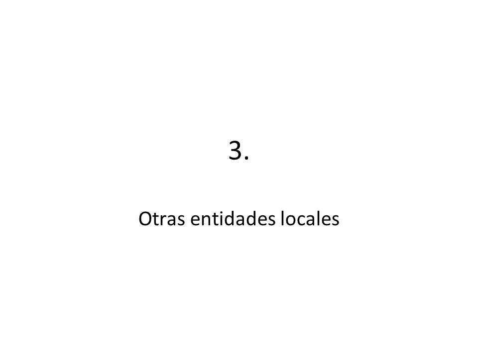 Otras entidades locales