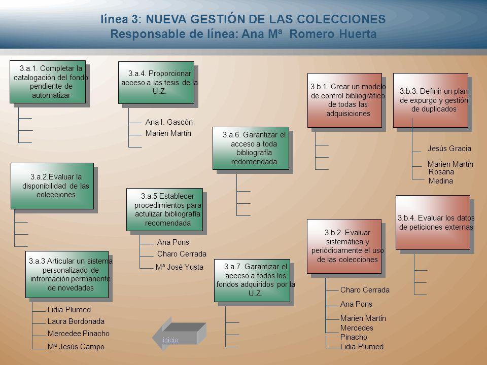 línea 3: NUEVA GESTIÓN DE LAS COLECCIONES