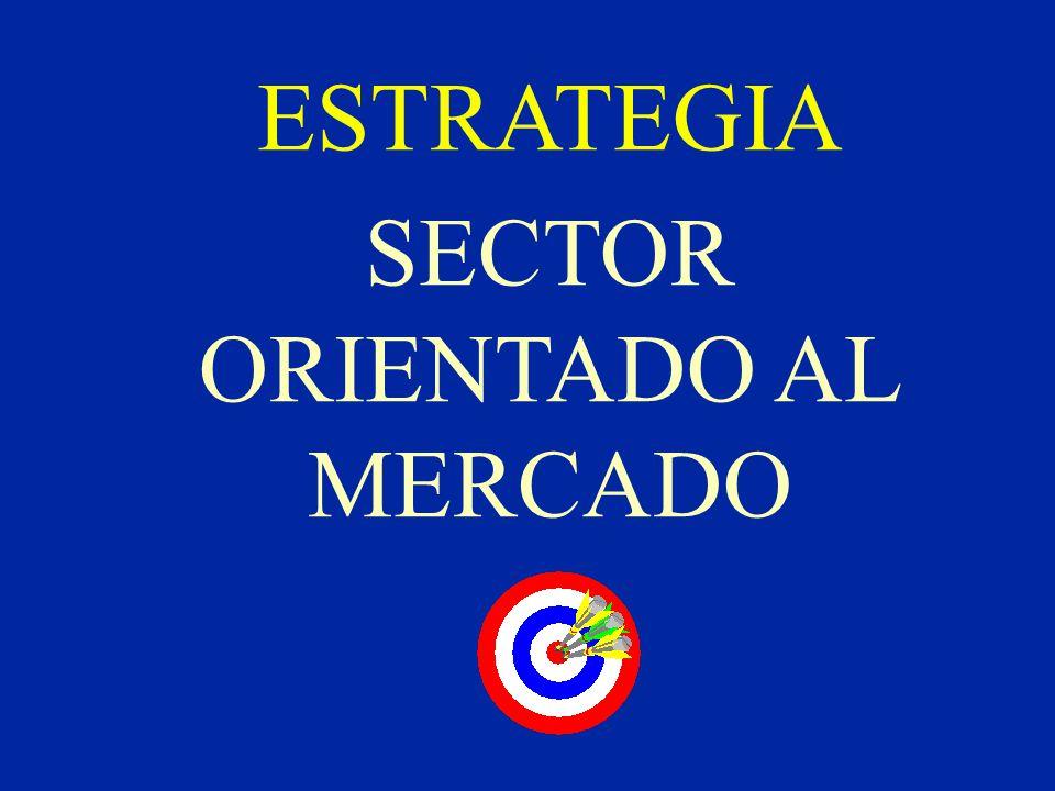 ESTRATEGIA SECTOR ORIENTADO AL MERCADO
