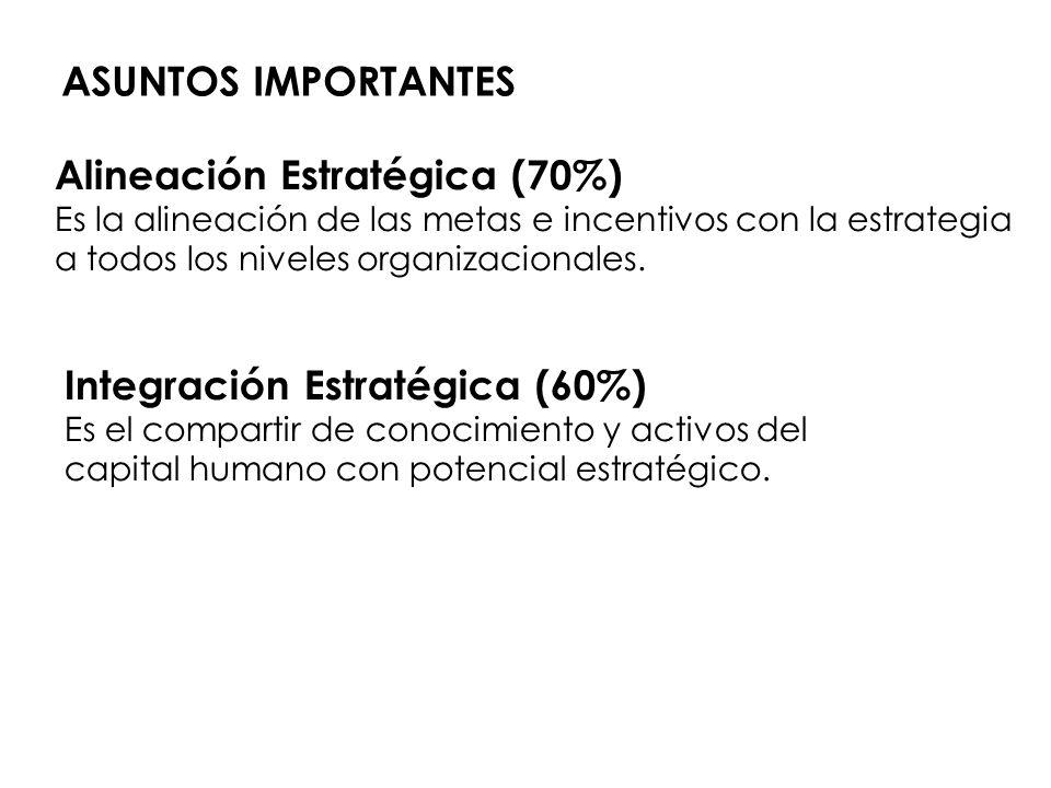 Alineación Estratégica (70%)