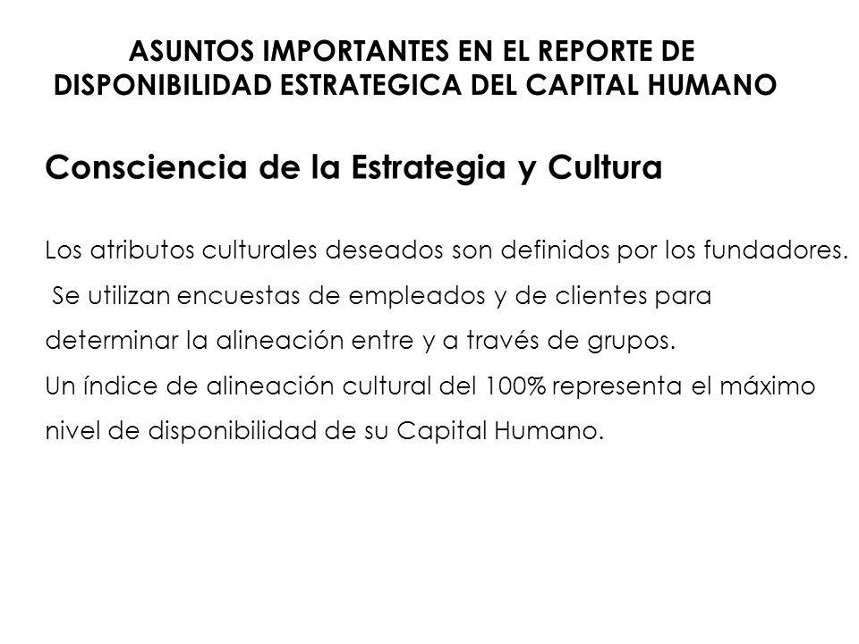 Consciencia de la Estrategia y Cultura