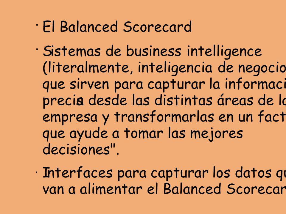 istemas de business intelligence