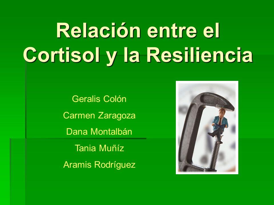 Relación entre el Cortisol y la Resiliencia