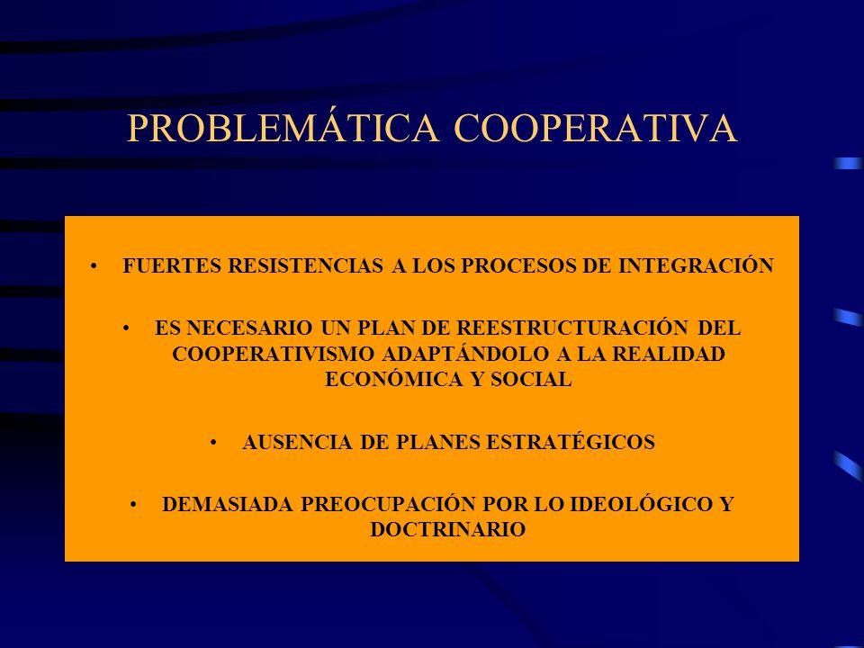 PROBLEMÁTICA COOPERATIVA