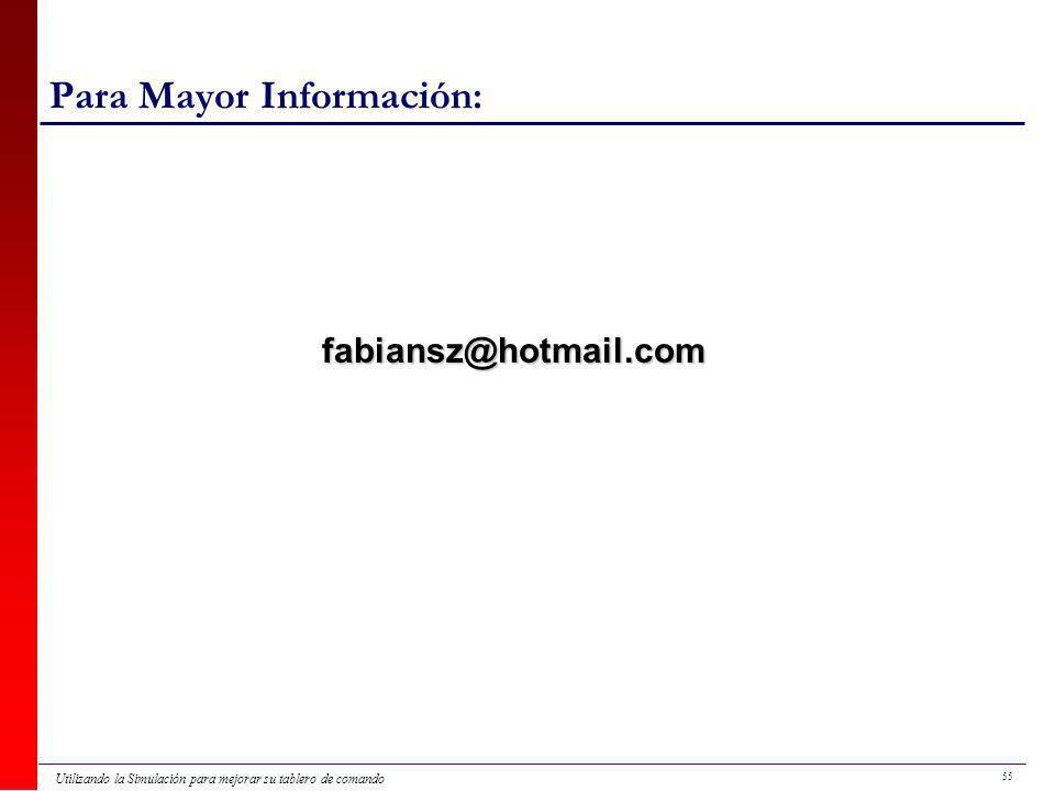 Para Mayor Información: