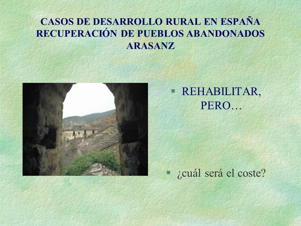 REHABILITAR, PERO… ¿cuál será el coste