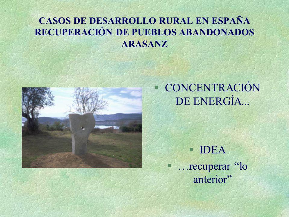 CONCENTRACIÓN DE ENERGÍA...