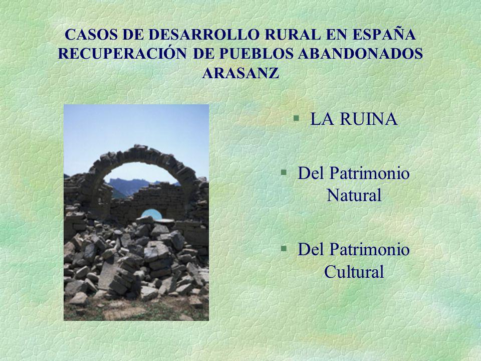 Del Patrimonio Natural