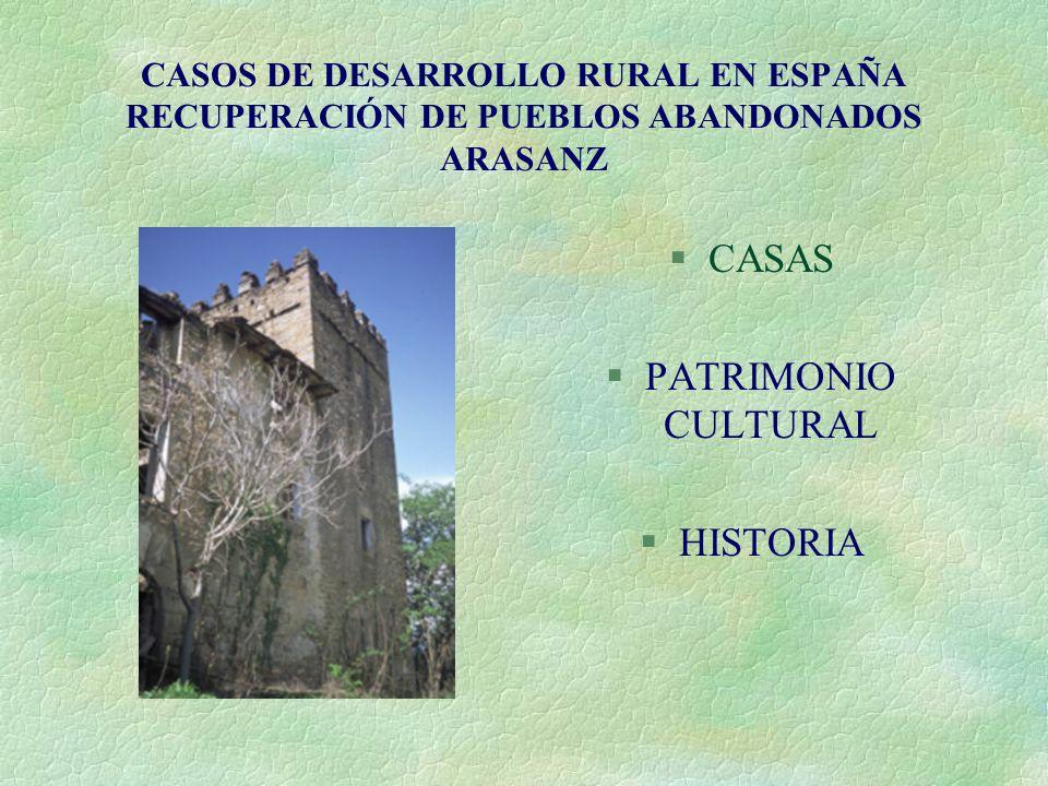 CASAS PATRIMONIO CULTURAL HISTORIA