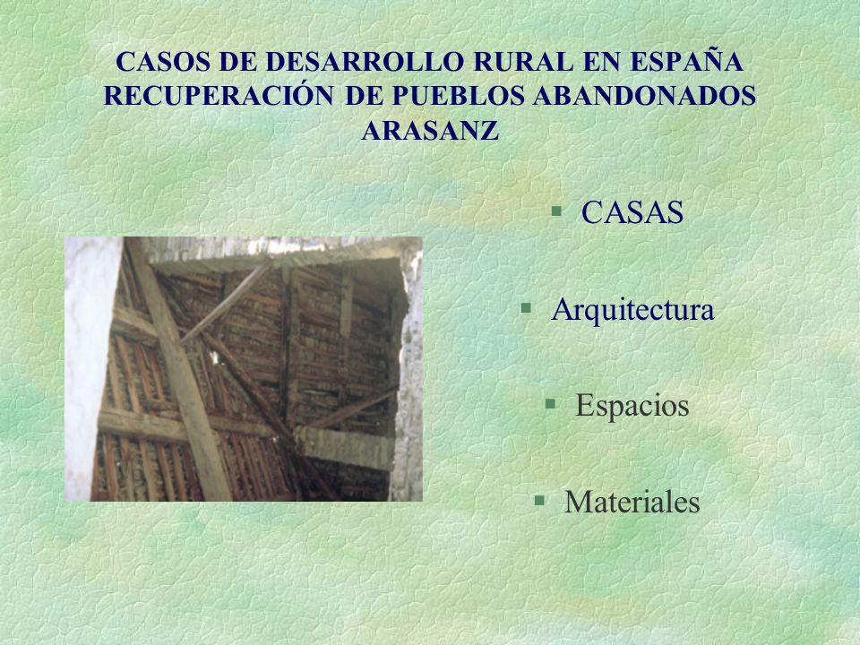 CASAS Arquitectura Espacios Materiales