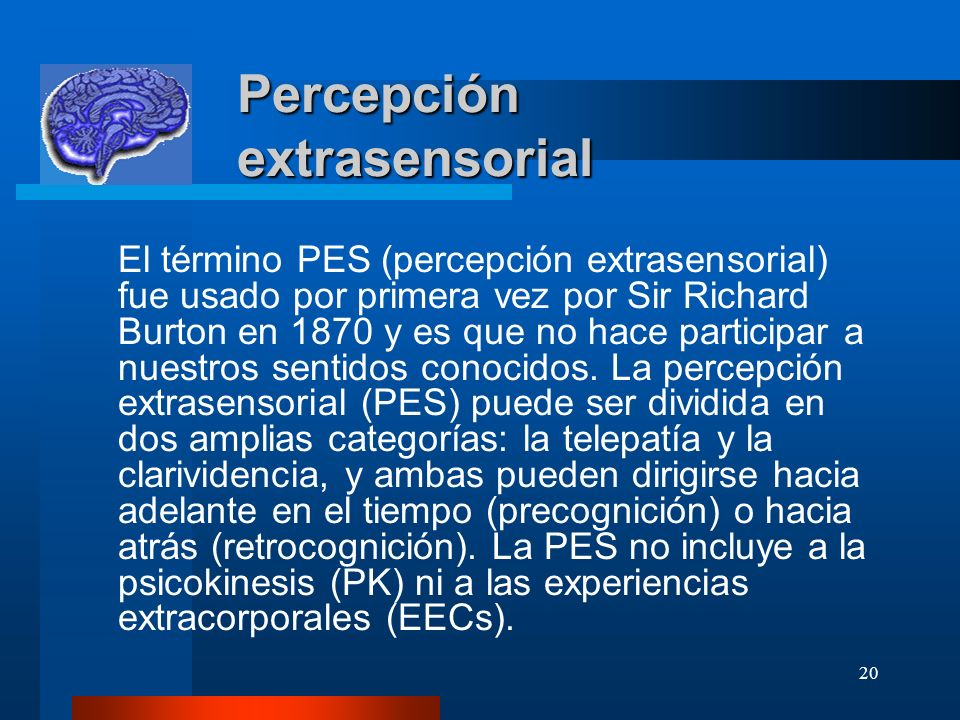 Percepción extrasensorial