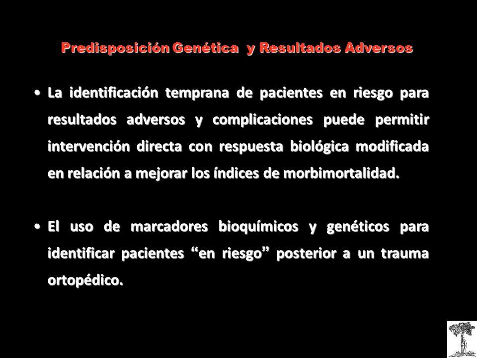 Predisposición Genética y Resultados Adversos
