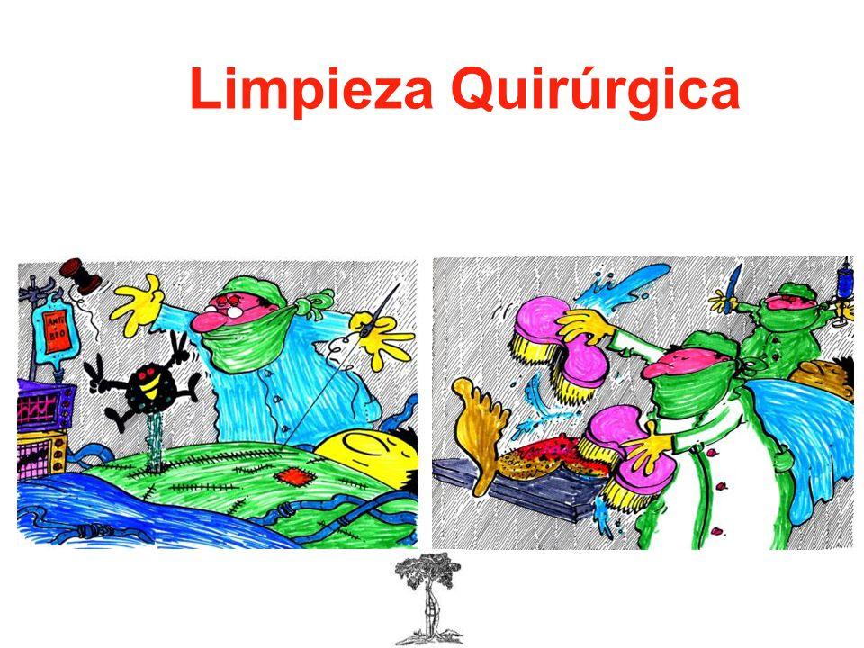 El dLimpieza Quirúrgica