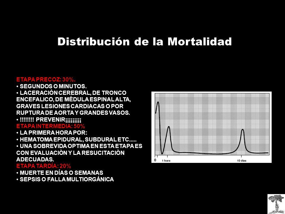 Distribución de la Mortalidad