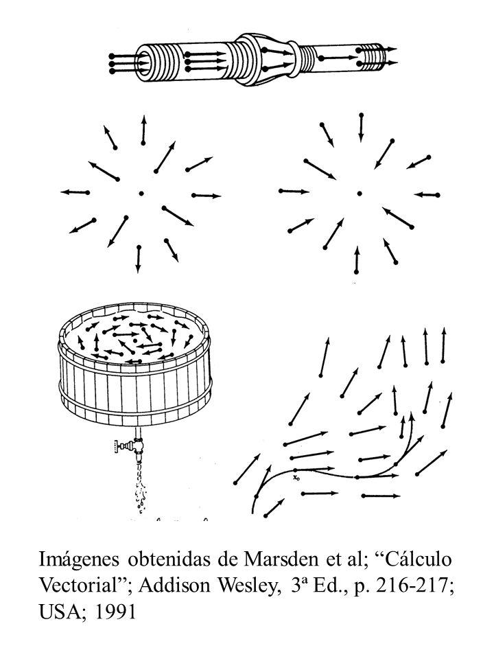 Imágenes obtenidas de Marsden et al; Cálculo Vectorial ; Addison Wesley, 3ª Ed., p.