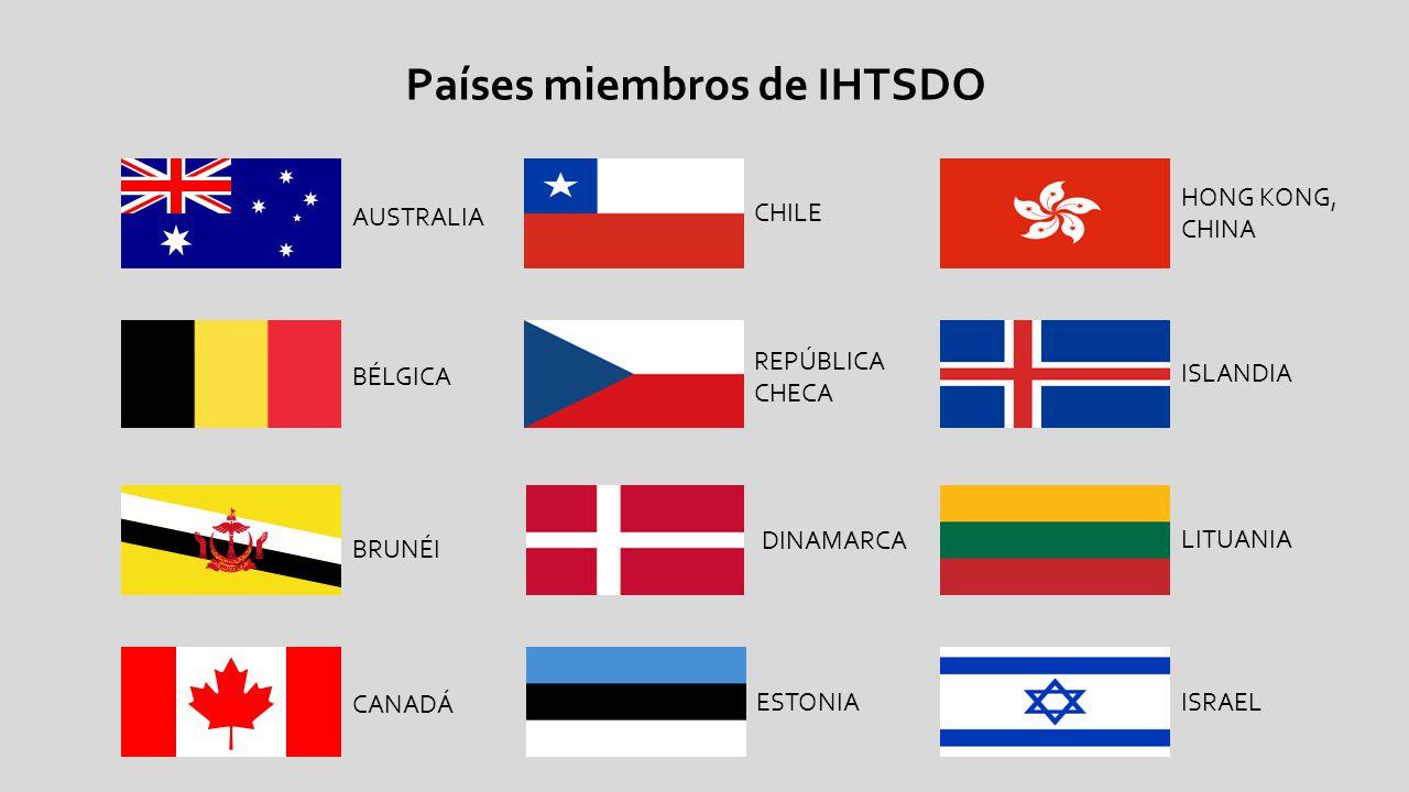 Países miembros de IHTSDO