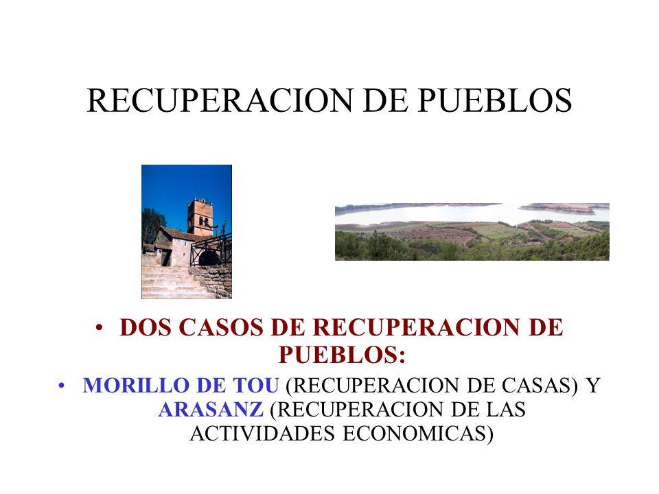 RECUPERACION DE PUEBLOS