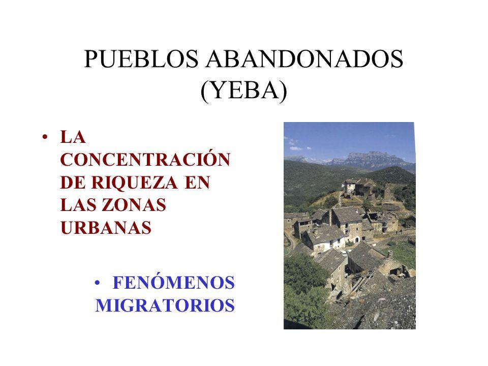 PUEBLOS ABANDONADOS (YEBA)